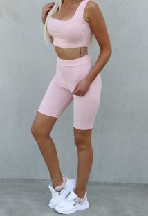 yogaset pink