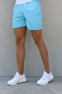 short light blue