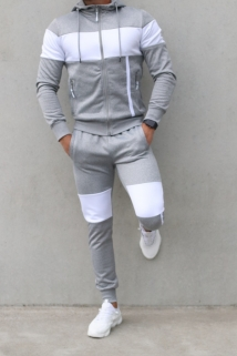jogging grey/white