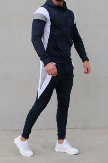 jogging blue