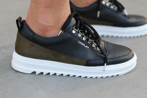 shoes black-kaky