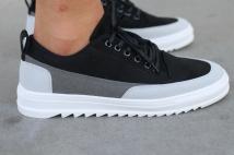 sneaker black/grey