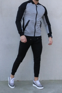 jogging blak/grey