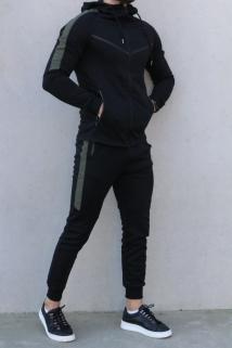 jogging black-kaky