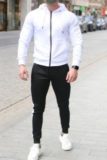 jogging white