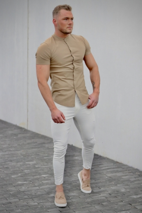 shirt camel