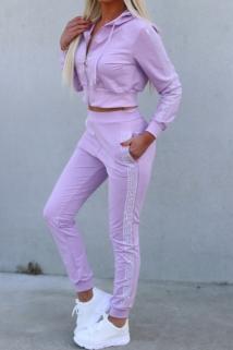 tracksuit purple