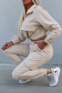tracksuit beige