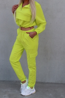 tracksuit yellow