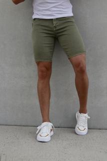 jeans short khaky