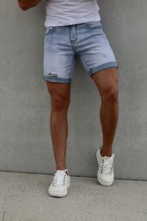 light jeans short