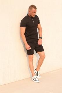 polo&short full black