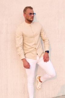 hemd beige
