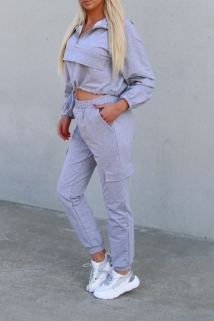 tracksuit gray