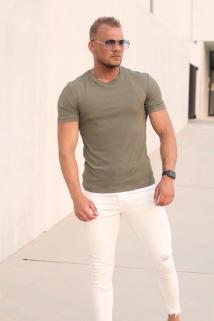 t-shirt khaky
