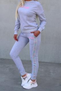 jogging gray