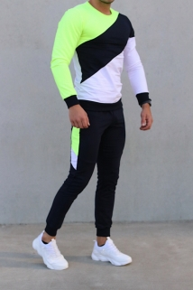 jogging yellow
