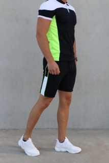 jogging short yellow