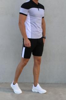 jogging short grey black